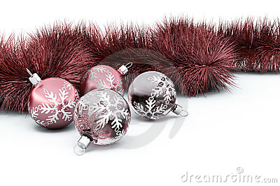 Baubles and tinsel
