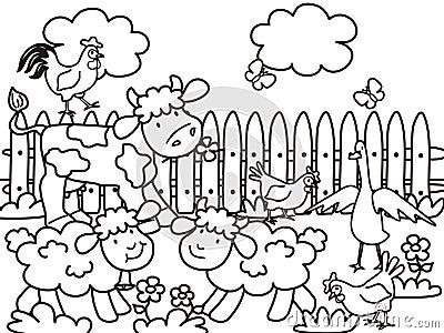 Bauernhof-Farbton