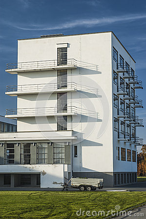 Free Bauhaus Dessau. Royalty Free Stock Photography - 65564087