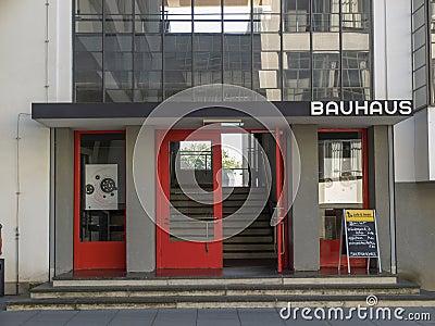 Bauhaus Dessau Editorial Stock Photo