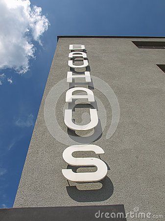 Bauhaus Dessau Editorial Stock Photo