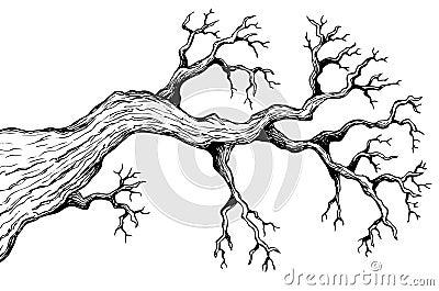 Baumthema, das 3 zeichnet