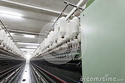 Baumwollspannweitespulen