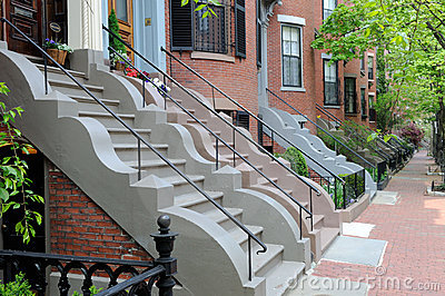 Bautiful Row House Facades, Victorian Architecture