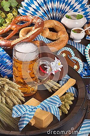 Bavaria and Oktoberfest Stock Photo