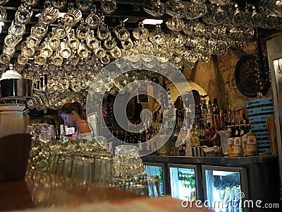 Bavarian pub interior design Editorial Photography