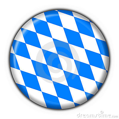 Bavarian button flag round shape