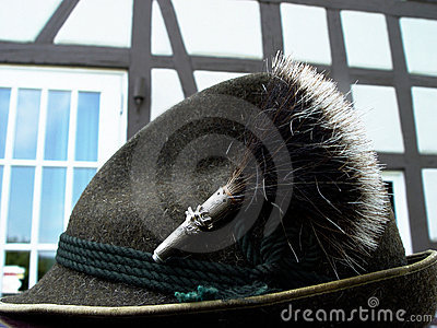 bavarian costume hat