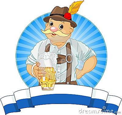 Bavarian di Oktoberfest