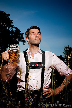 Free Bavarian Oktoberfest Royalty Free Stock Photo - 14763095