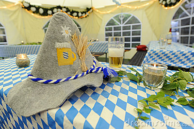 Bavarian Oktoberfest decoration