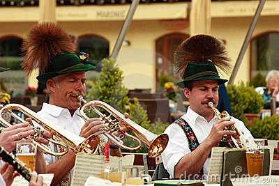 Bavarian open air concert Editorial Image