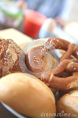 Bavarian pretzel Bread