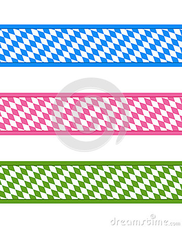 Bavarian ribbons