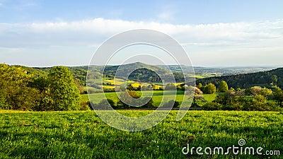 Bavarian Spring Landscape