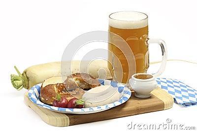 Bavarian Veal Sausage