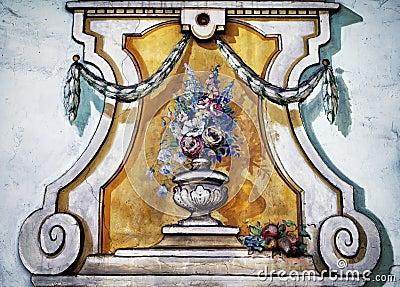 Bavarian window - mural
