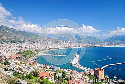 Bay of Alanya. Turkey