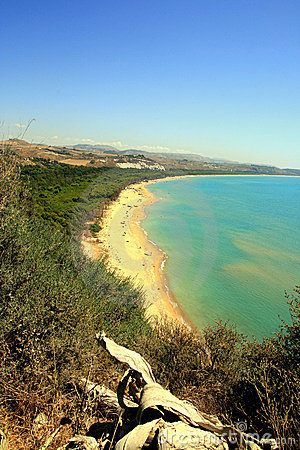 Bay, beach & summer sea colors, Sicily