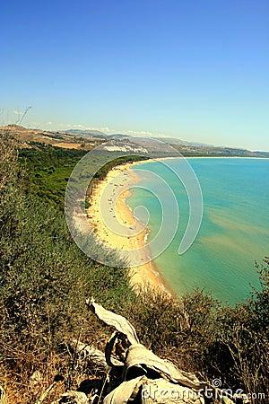 Bay, beach & summer sea colors, Sicily