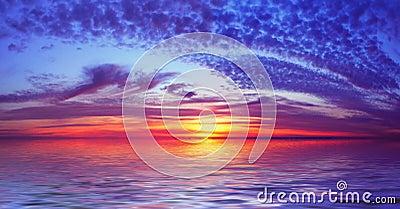 Bay Beach Sunset