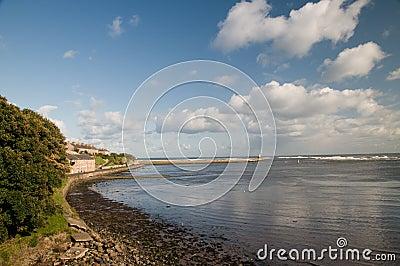 The bay at berwick