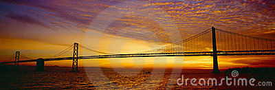 Bay Bridge at Sunrise