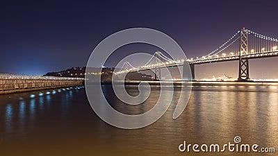 Bay Bridge towards Treasure Island