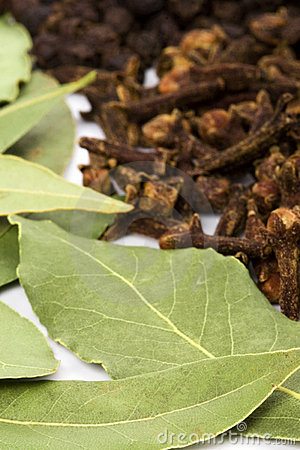 Bay leaves cloves and black pepper royalty free stock photography image 12043197 - Cook bay leaves ...