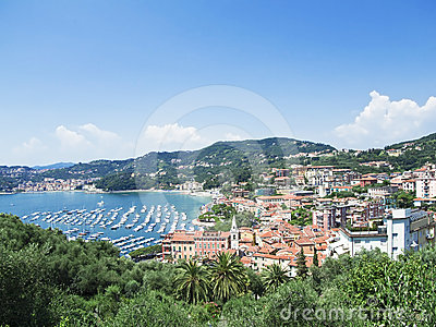 Bay of Lerici. Lerici. La Spezia. Liguria. Italy. Editorial Photography