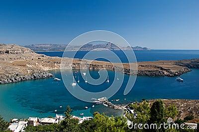 Bay in Lindos