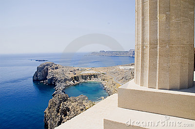 Bay of Lindos - Rhodes