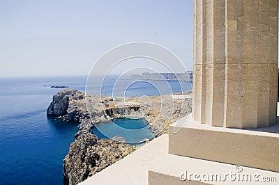 Bay of Lindos - Rhodes