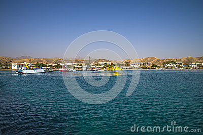 From the bay in sharm el sheikh