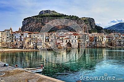 Bay in Sicily