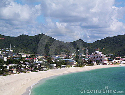 Bay in St. Maarten
