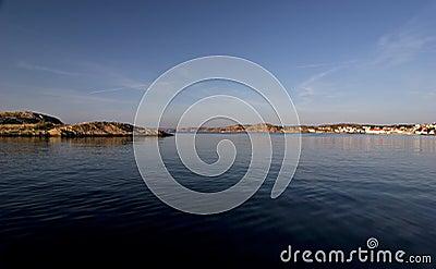 Bay on the Swedish coast