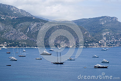 Bay of Villefranche, French Riviera