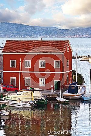 Bay in Zadar,