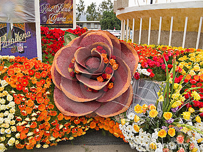 Bayer Advanced 2011 Rose Parade Float Editorial Stock Photo