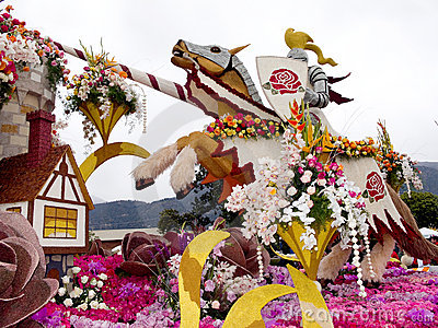 Bayer Advanced 2011 Rose Parade Float Editorial Image