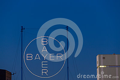 Bayer AG Leverkusen Editorial Stock Image