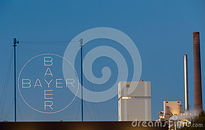 Bayer AG Editorial Stock Photo