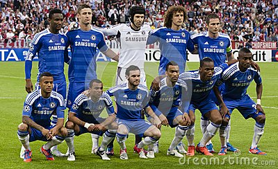 Bayern Munich vs. Chelsea FC UEFA CL Final Editorial Stock Photo