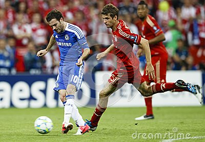Bayern Munich vs. Chelsea FC UEFA CL Final Editorial Photo