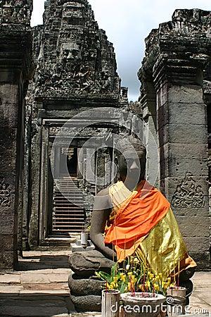 Bayon寺庙
