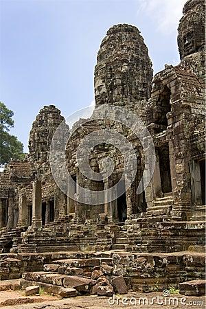 Bayon Temple - Angkor Wat - Cambodia