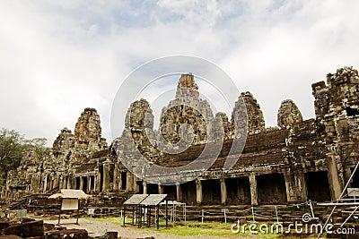Bayon Temple. Cambodia.