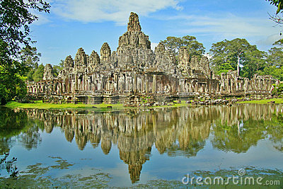 Bayon Temple in Siem Reap
