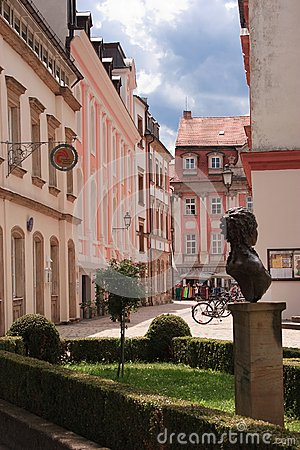 Bayreuth old town Editorial Stock Image